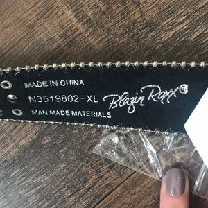 Blazin Roxx Accessories - NWT Blazin Roxx Southwest Stitch diamond belt XL